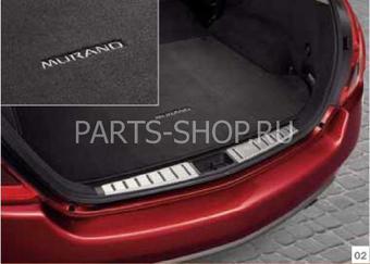 Коврик багажника текстильный Nissan Murano 2008-