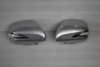 Корпус зеркала вместо штатного Prado 120, GX470, Surf 215 серебро