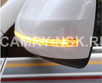 Корпус зеркала lc150, lc200 с динамическим поворотником, дизайн 2019