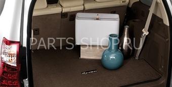 """Коврик багажника с лого """"Lexus"""" для GX460 (черн., корич.)"""