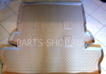Коврик багажника полиуретан 7-ми местный (сер, черн, беж)