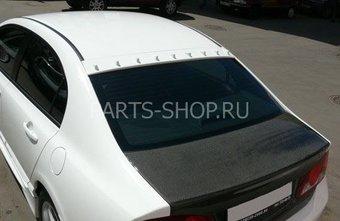 Козырек с зубьями на заднее стекло Honda Civic 4D