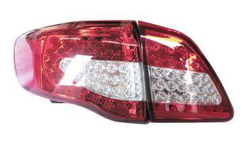 Фонари задние светодиодные Toyota Corolla прозрачные.