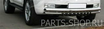 Защита передняя по низу бампера LC200