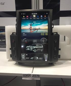 Головное устройство Tesla для LX570 07-15