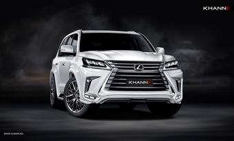 Обвес KHANN ver. HRS для Lexus LX570 с 2016 года