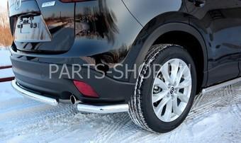 Защита задняя уголки 42 мм на Mazda CX-5