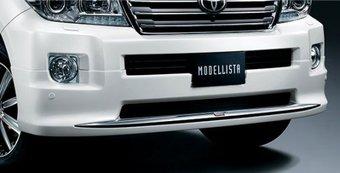 Обвес Modellista на передний бампер LC200 (черн., бел. или под покраску)