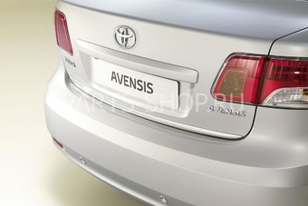 Молдинг хромированный на крышку багажника для Toyota Avensis 09'-