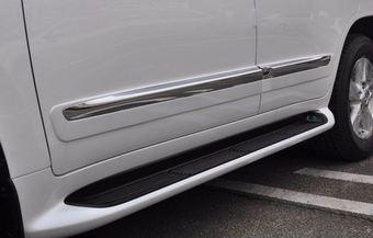 Молдинги боковые на двери LC200/LX570 дизайн lexus 2014