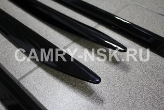 Молдинги дверей LX450d/LC200/LX570 черные