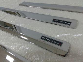 Молдинги на двери patrol / qx80 дизайн Nismo  нерж. сталь