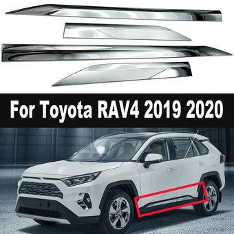 Молдинги на двери rav4 2020