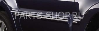 Молдинг передних дверей Pajero 2011-.Короткая база. (идет в цвет машины)