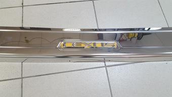 Накладка на задний бампер LX470
