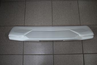 Спойлер, накладка prado 150/gx460 стиль modellista (бел. перл.)