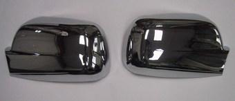 Накладки на зеркала хром crv 02-06