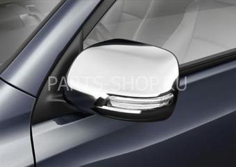 Накладки на зеркала LC200 2012-