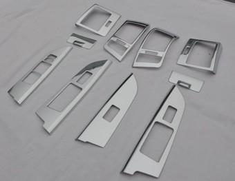 Накладки салона хром в lc200 (10 предметов)