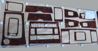 Накладки салона под дерево Corolla 2000-