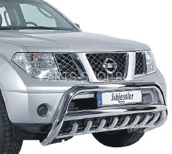 Защита картера Nissan Navara нерж. 05-