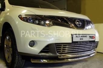Защита передняя, нижняя Nissan Murano 2010-