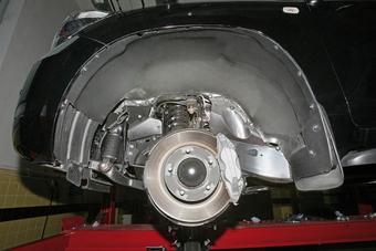 Дополнительная защита колесных арок на LC150