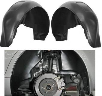 Дополнительная защита колесных арок на Camry50 (комплект 4 шт.)