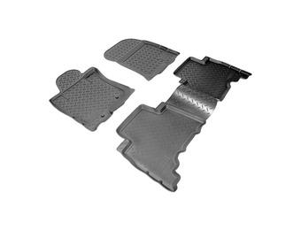 Коврики салона LC150 полиуретан (черные, бежевые, серые)
