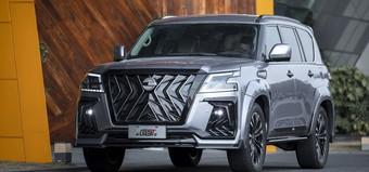 Обвес Black Hawk для Nissan Patrol 2021+