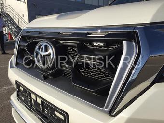 Обвес MTR на Toyota prado 150 2018 с раздвоенным выхлопом