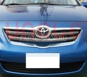 Хромированные окантовки решетки радиатора Corolla (2 части)