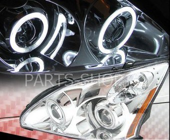Фары хром для Lexus RX