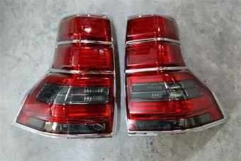 Фонари задние светодиодные тонированные на LC150 в стиле GX460 (комплект)
