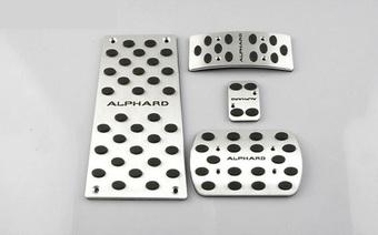 Накладки на педали Alphard 08-16