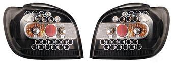 Фонари задние черные, диодные Vitz/Yaris 99-05
