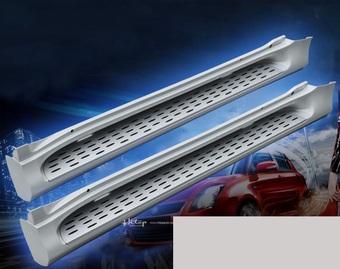 Подножки prado 150 усиленные с металлической основой