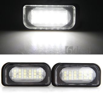 Подсветка заднего номера светодиодная w203 (комплект)