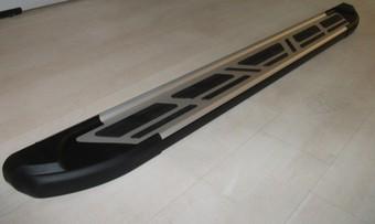 Пороги Sapphire на Nissan Navara 05-09