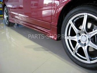 Пороги Mugen RR на Honda Civic (комплект)