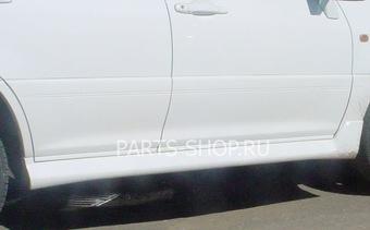 Пороги внешние на RX300 в цвет авто