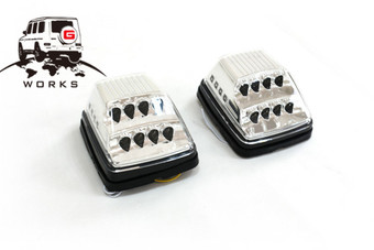 Повторители поворотов диодные W463 хром