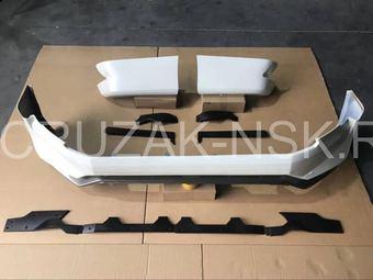 Обвес Aero на Toyota Land Cruiser Prado 150 2018+