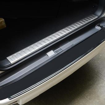 Защитная накладка на проём багажника prado 150 (под 5-ти или 7-ми местный авто)