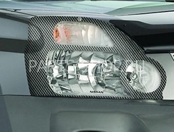 Защита передних фар карбон X-Trail 2007-2011