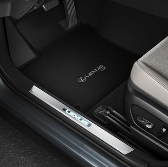Коврики салона черные ворсовые Lexus UX