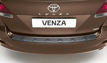 Накладка на задний бампер Toyota Venza