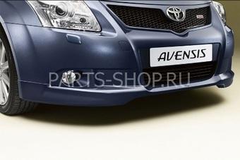 Спойлер переднего бампера для Toyota Avensis