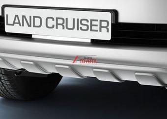 Land cruiser 200 защитная накладка под передний бампер