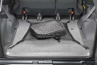 Сетка в багажник горизонтальная или вертикальная